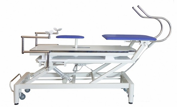 Plaster treatment table