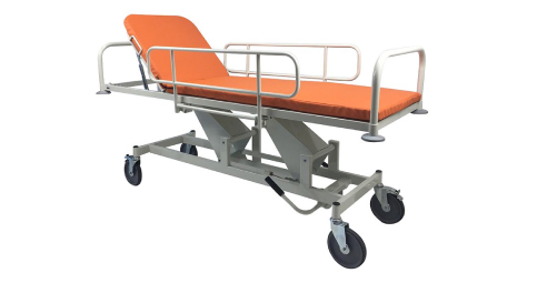 Carts for transporting patients