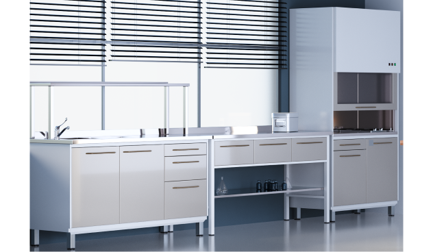Furniture for dental laboratory