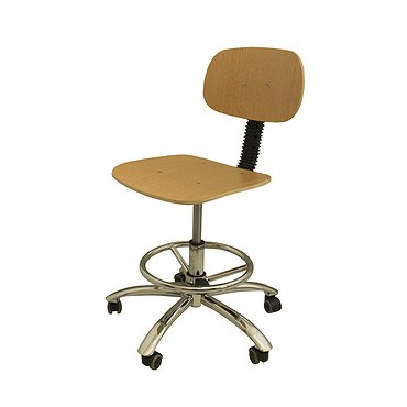 Chair for dental technician