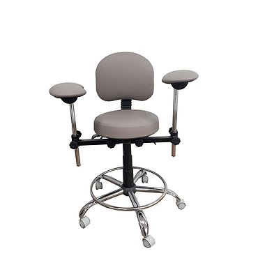 Chair for working with microscope