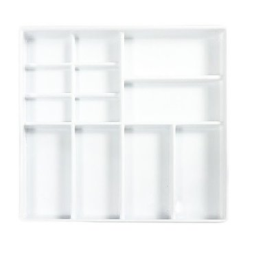 Deep medical insert with 12 compartments