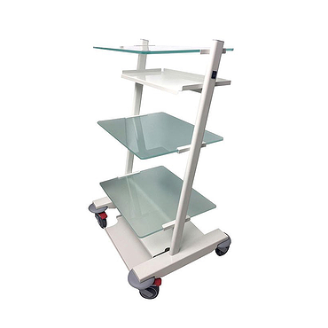 Medical mobile stand with 2 sockets