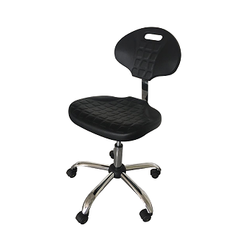Laboratory chair with hight and inclination angle regulation