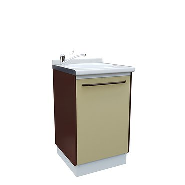 Medical drawer unit with sink