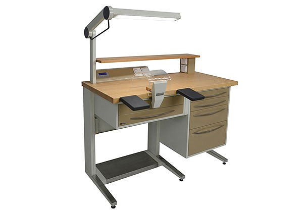 Dental technician's desk with drawer (Medium series)