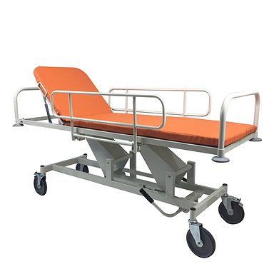 Art for patients transportation with height adjustment and Trendelenburg/antitrendelenburg function