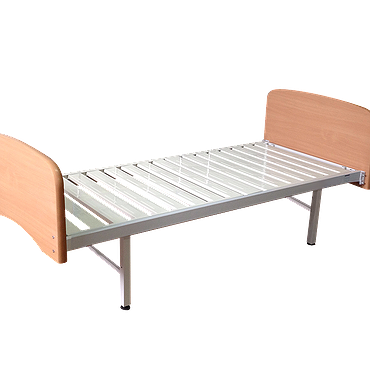 Single sectional beds with quick-release backrests