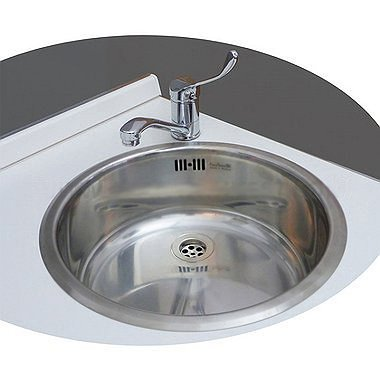 Sink made of stainless steel