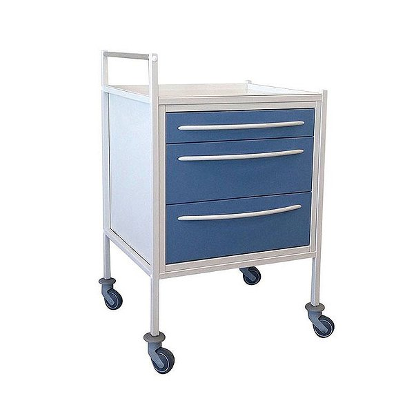 Medical trolley for additional equipment