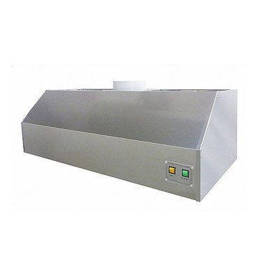 Medical stainless steel hood with exhaust system