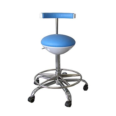 Medical chair with leg support and hight regulation