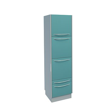 Medical wardrobe with 3 doors, 2 drawers and 3 shelves