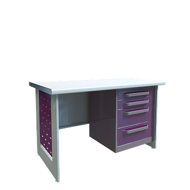 Doctor's table SK-1 (length 1400mm, the curbstone is not included in the price of the table)