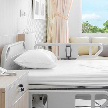 Furniture and equipment for hospitals