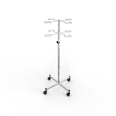 Medical mobile infusion rack (for dropper)