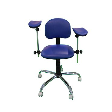 Table-chair for blood sampling