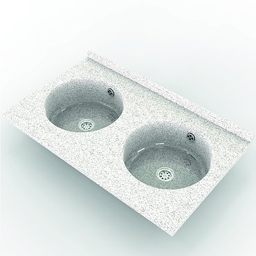 Sink of artificial stone