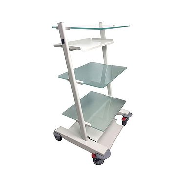 Medical cart for auxiliary equipment