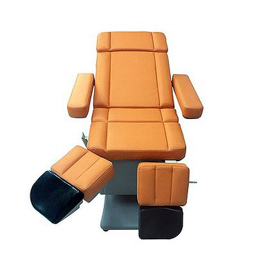 Medical pedicure chair (3 motors, leg sections moved together)