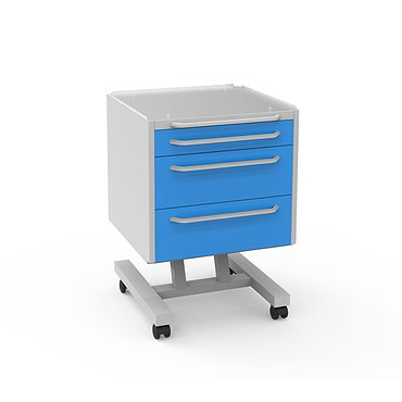 Mobile doctor's table