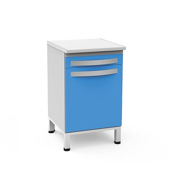 Module with drawer and shelf